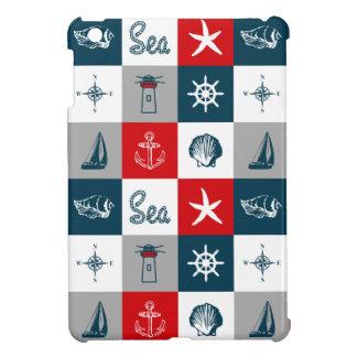 航海のなテーマのデザイン iPad MINIカバー