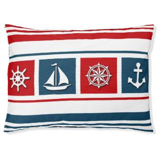 航海のなデザイン ペットベッド