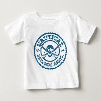 航海のなネットワーク ベビーTシャツ