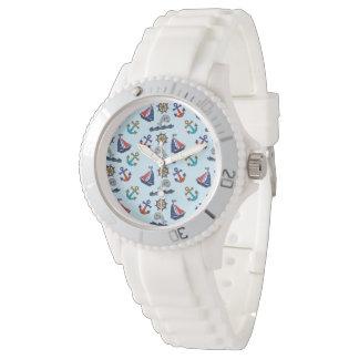 航海のなパターン 腕時計
