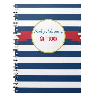 航海のなベビーシャワーの贈答用図書 ノートブック