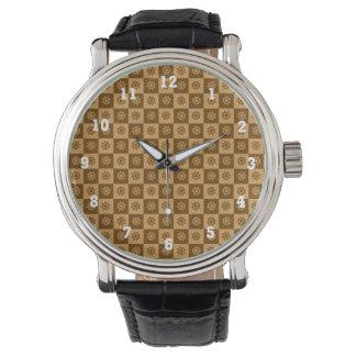 航海のなボートのハンドルの腕時計 腕時計