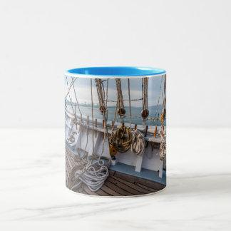 航海のなマグ ツートーンマグカップ