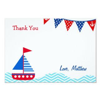 航海のなヨットの誕生日はメッセージカード感謝していしています カード