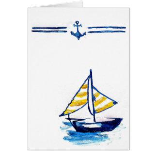 航海のなヨットカード カード