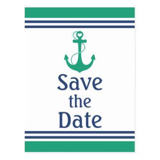 航海のな保存日付 ポストカード