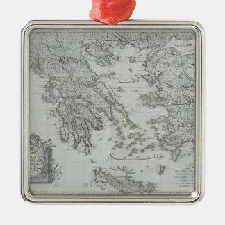 航海のな地図 メタルオーナメント