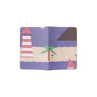 航海のな場面のパスポートカバー パスポートカバー
