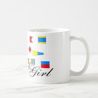 航海のな女の子 コーヒーマグカップ