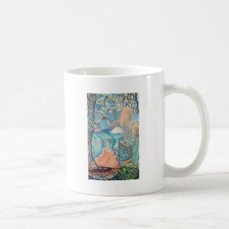 航海のな抽象芸術 コーヒーマグカップ