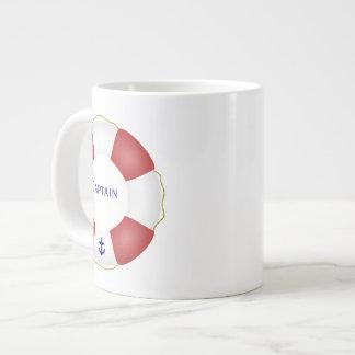 航海のな救命具 ジャンボコーヒーマグカップ