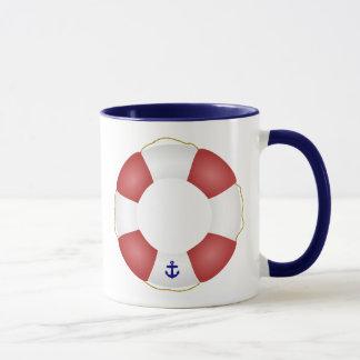 航海のな救命具 マグカップ