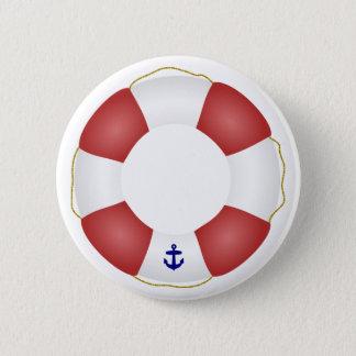 航海のな救命具 5.7CM 丸型バッジ