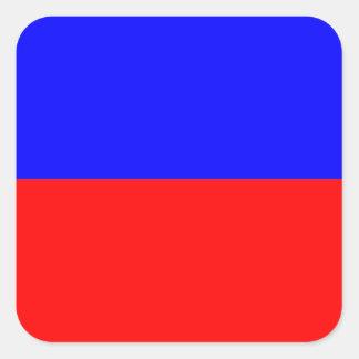 航海のな旗信号の手紙E (エコー) スクエアシール