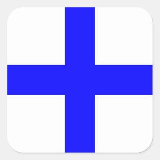 航海のな旗信号の手紙X (X線) スクエアシール