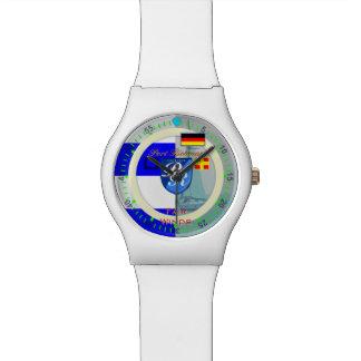 """航海のな旗""""11月""""のドイツ港Richman 腕時計"""