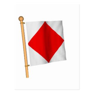 航海のな旗「F 葉書き