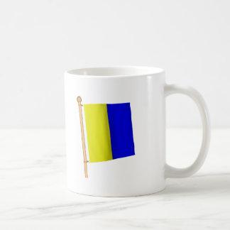 航海のな旗「K コーヒーマグカップ