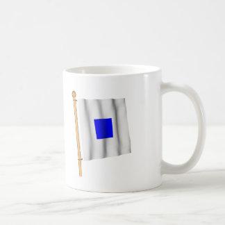 航海のな旗「S' コーヒーマグカップ