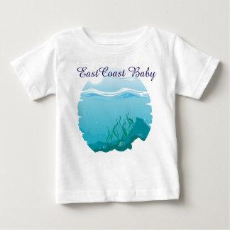 航海のな東海岸のベビーの海の海 ベビーTシャツ