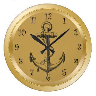 航海のな柱時計 ラージ壁時計