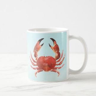 航海のな沿岸シーフードのカニ コーヒーマグカップ