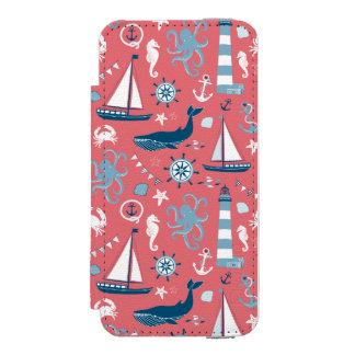航海のな海は上がりました INCIPIO WATSON™ iPhone 5 財布 ケース