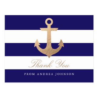 航海のな海軍は感謝していしています ポストカード