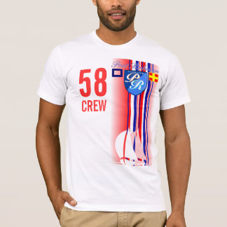 航海のな港Richman Tシャツ