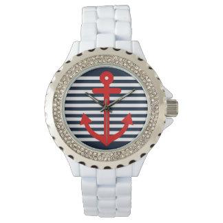 航海のな濃紺 腕時計