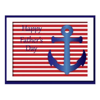 航海のな父の日のいかり ポストカード