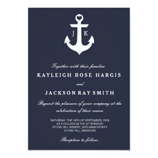 航海のな結婚式招待状結婚する| カード