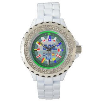 航海のな航行のヨットの港Richman 腕時計
