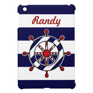 航海のな船の車輪のiPad Miniケース iPad Miniケース