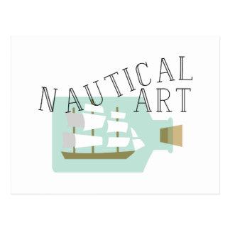 航海のな芸術 ポストカード