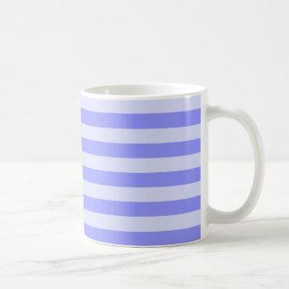 航海のな青い縞 コーヒーマグカップ