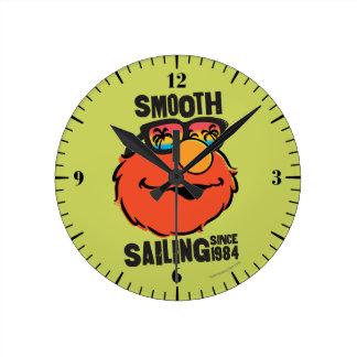 航海のなElmo ラウンド壁時計