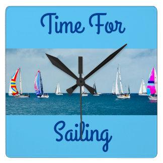 航海の時間 スクエア壁時計