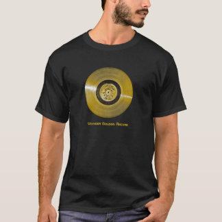 航海者の宇宙船のゴールドレコード Tシャツ