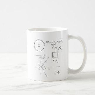 航海者メッセージ コーヒーマグカップ