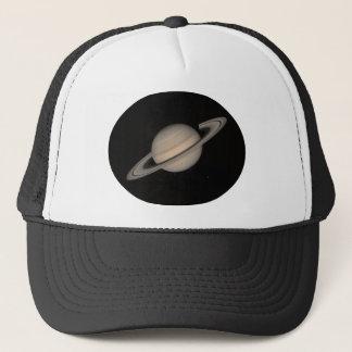 航海者2による土星 キャップ