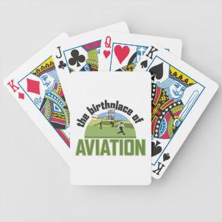 航空の出生地 バイスクルトランプ
