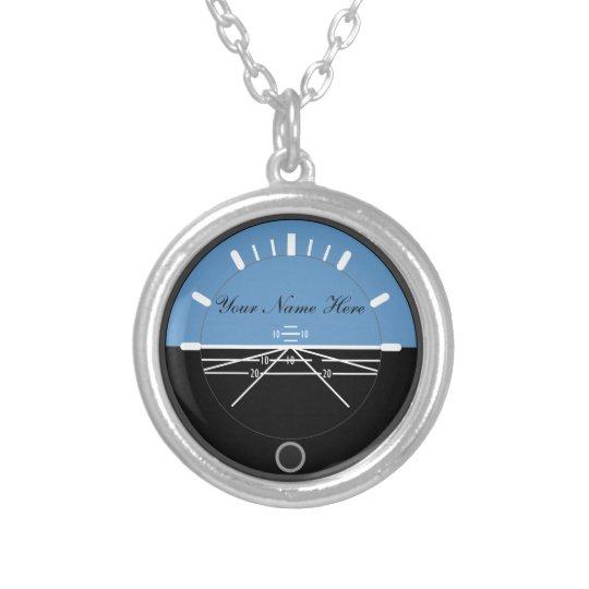 航空ネックレス シルバープレートネックレス