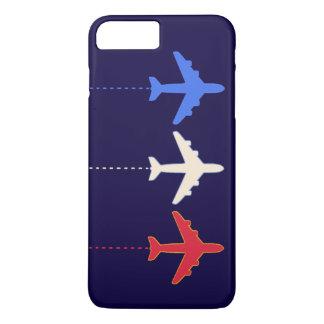 航空会社の飛行機 iPhone 7 PLUSケース