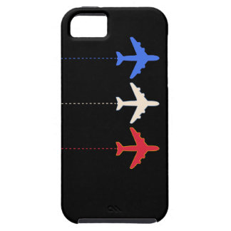 航空会社の飛行機 iPhone SE/5/5s ケース