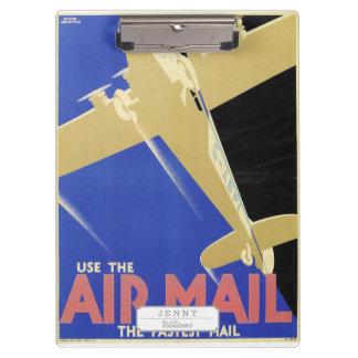 航空便、最も速い郵便を使用して下さい クリップボード