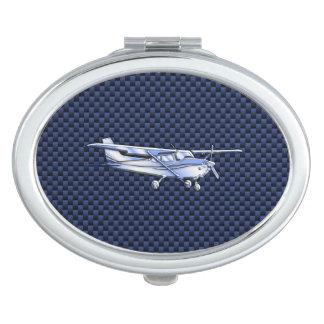 航空機のクラシックなクロムセスナ飛んでいるなカーボン繊維