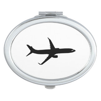 航空機のジェット旅客機の黒飛行は色をカスタマイズ