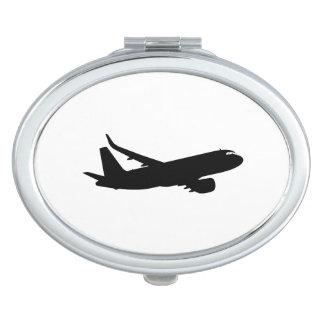 航空機のジェット機はさみ金のシルエットの飛んでいるな装飾