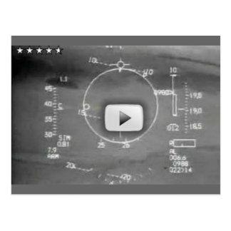 航空機の兵器システムのカメラ ポストカード